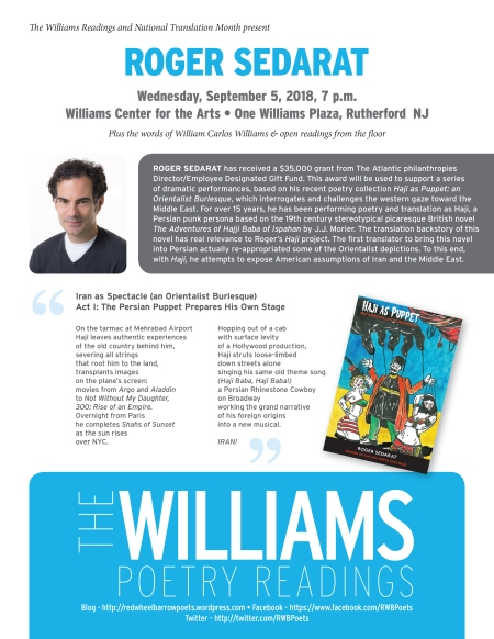 Williams Readings-Sept2018.indd