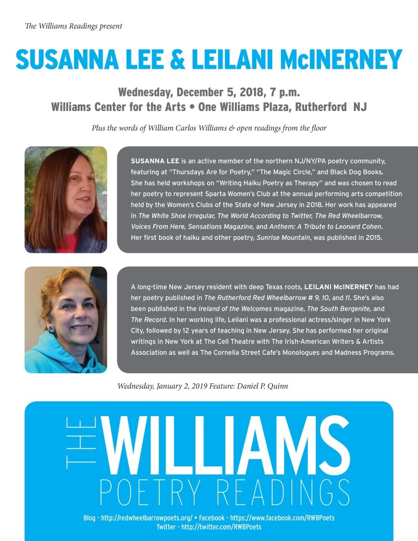 Williams Readings-Susanna-Leilani.indd