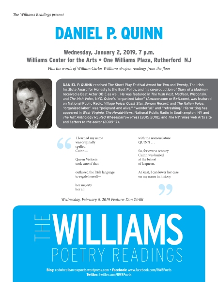Williams Readings-DQuinn-Jan2019.indd