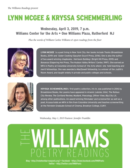 Williams Readings-Lynn-Kryssa-Apr2019.indd